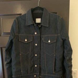 Raw denim Sandro jacket